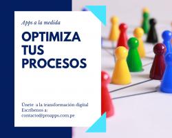 Optimiza tus procesos