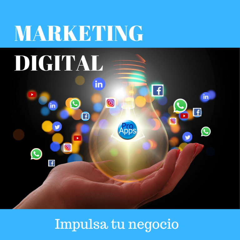 El Marketing Digital impulsa tu Negocio