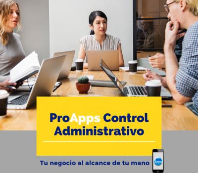 ProApps Control Administrativo